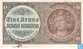 Moravie Bohême 1 Krone