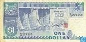 1 Dollar de Singapour