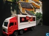 Modelauto's  - Tomica - Mitsubishi Fuso 'Coca-Cola'