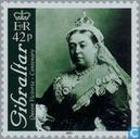 Postage Stamps - Gibraltar - Queen Victoria 100 years