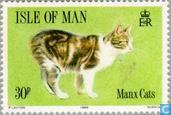 Timbres-poste - Man - Chats