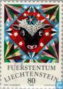 Postage Stamps - Liechtenstein - Constellations