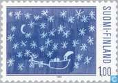 Postzegels - Finland - Kerstmis