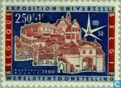 Postage Stamps - Belgium [BEL] - Expo58 world exhibition, Brussels