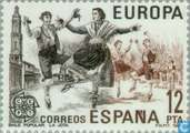 Postage Stamps - Spain [ESP] - Europe – Folklore