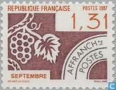 Briefmarken - Frankreich [FRA] - September