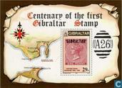 Postage Stamps - Gibraltar - Stamp Anniversary 1886-1986