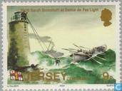 Postage Stamps - Jersey - Rescue 100 years