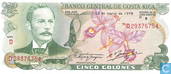 Banknotes - Banco Central de Costa Rica - Costa Rica 5 Colones