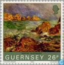 Postzegels - Guernsey - Renoir