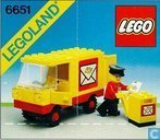 Speelgoed - Lego - lego 6651 Post Office Van