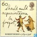 Postage Stamps - Great Britain [GBR] - Burns, Robert 1759-1796