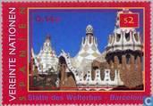 Postzegels - Verenigde Naties - Wenen - Cultuur en natuurschatten