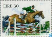 Postage Stamps - Ireland - equestrian
