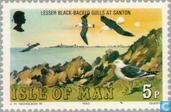 Postage Stamps - Man - Seabirds