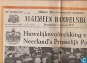 Livres - Algemeen Handelsblad (krant) - Huwelijk Juliana & Bernard