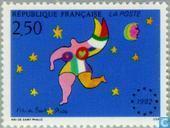 Briefmarken - Frankreich [FRA] - Europäischer Binnenmarkt