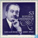 Timbres-poste - Autriche [AUT] -  Leo Ascher, 100 ans