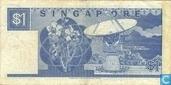 Billets de banque - Singapour - 1 Dollar de Singapour