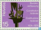 Postzegels - Zwitserland [CHE] - Bondsverdrag 100 jaar