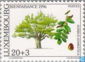 Timbres-poste - Luxembourg - Arbres