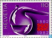 Timbres-poste - Suisse [CHE] - Chemical Industry Association 100 années