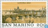 Postzegels - San Marino - Beroemde wereldsteden- Londen