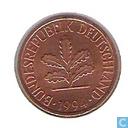Monnaies - Allemagne - Allemagne 2 pfennig 1994 (G)