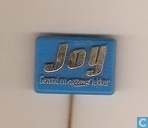 Joy Gezond en razend lekker [goud op blauw]
