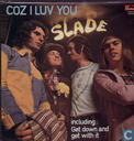 Vinyl records and CDs - Slade - Coz I luv you