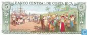 Billets de banque - Banco Central de Costa Rica - Costa Rica 5 Colones