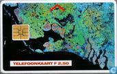 Satellietfoto Nederland