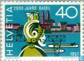 Postage Stamps - Switzerland [CHE] - Basel 2000 years