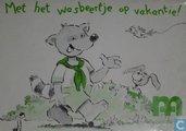Comics - Wasbeertje - Met het wasbeertje op vakantie