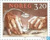 Postage Stamps - Norway - 320 Brown