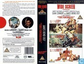 DVD / Video / Blu-ray - VHS video tape - Thunderball
