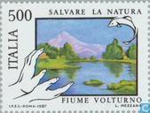 Briefmarken - Italien [ITA] - Seen und Flüsse