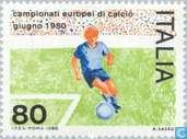 Timbres-poste - Italie [ITA] - Championnat européen de Football
