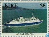 Postzegels - Ierland - Schepen