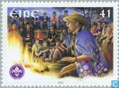 Postzegels - Ierland - Scouting