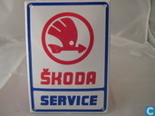 Enamel signs - Logo : Skoda - Emaille Reklamebord : Skoda