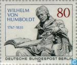 Humboldt, Wilhelm von 150th year of death