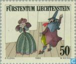 Postage Stamps - Liechtenstein - Theater