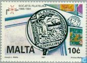 Timbres-poste - Malte - Philatelic Society