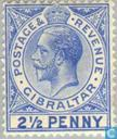 Postzegels - Gibraltar - Koning George V