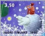 Postage Stamps - Finland - 350 blue