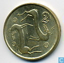 Coins - Cyprus - Cyprus 2 cents 1996