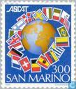 Postzegels - San Marino - ASCAT