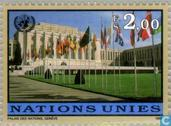Postage Stamps - United Nations - Geneva - franking