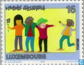 Postage Stamps - Luxembourg - Live together